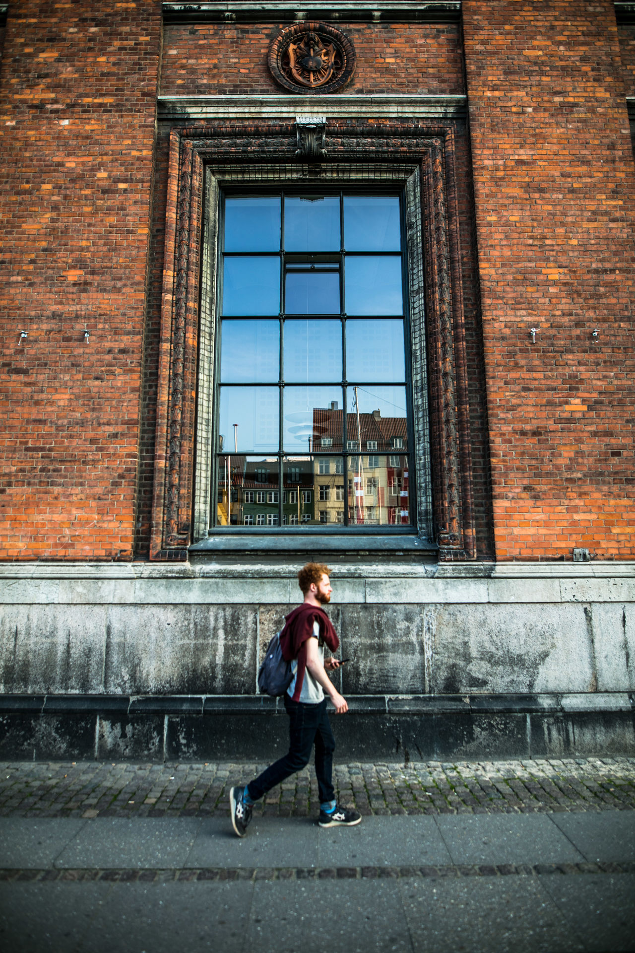 Architecture Brick Wall Building Exterior Built Structure Canon Childhood City Day Discover Your City EyeEm Gallery Full Length One Person Outdoors People Real People Spring The Week Of Eyeem Tourism Travel Travel Destinations Wanderlust The Street Photographer - 2017 EyeEm Awards