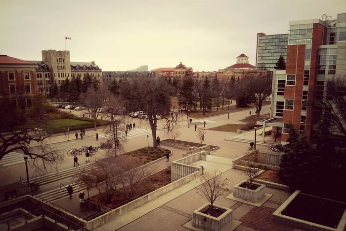 Cityscapes University Architecture Buildings & Sky