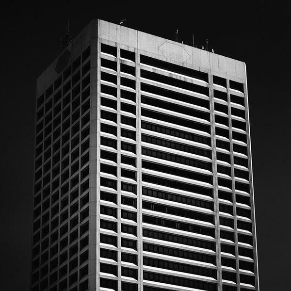 One Seneca Tower Buffalo Buffalony City POTD Photooftheday Architecture Monochrome Blackandwhite Bnw Monochromatic