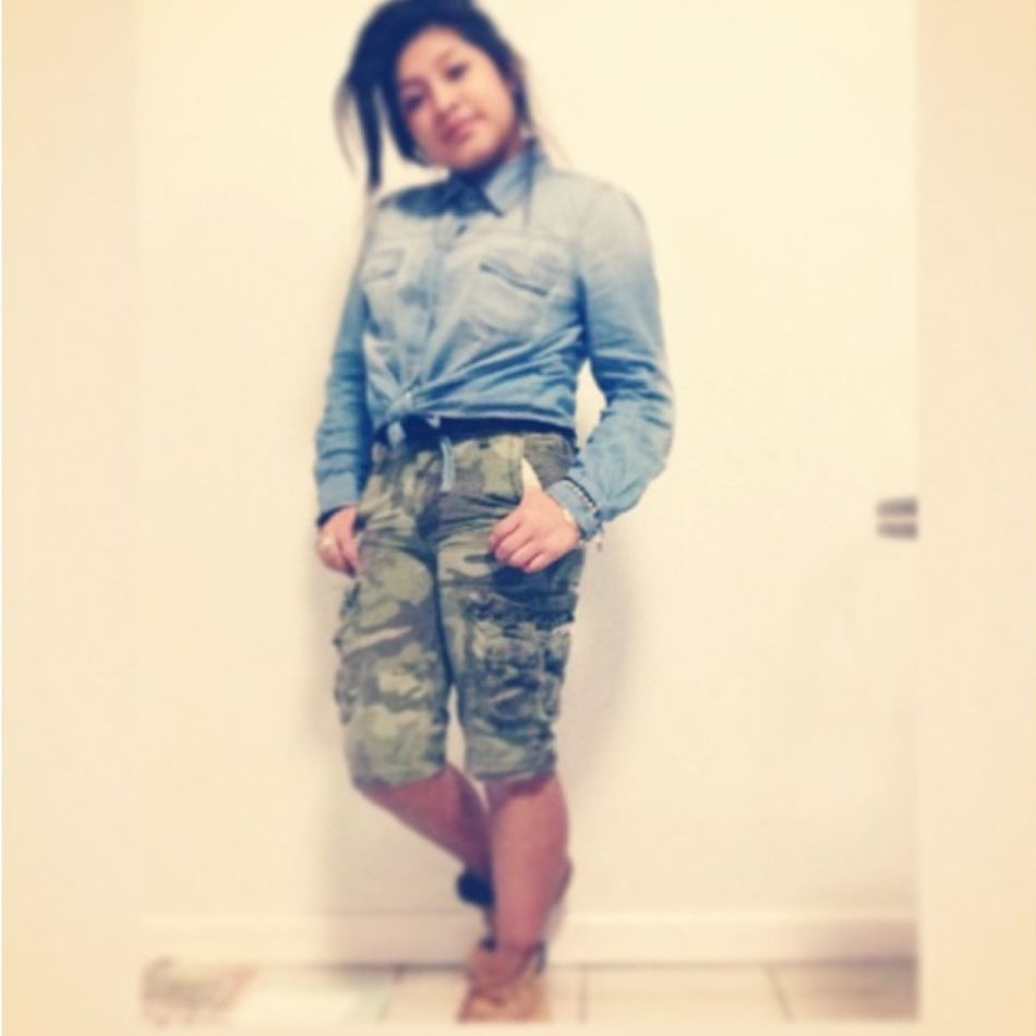 #trillshit #dope #coolin #cargos #denim