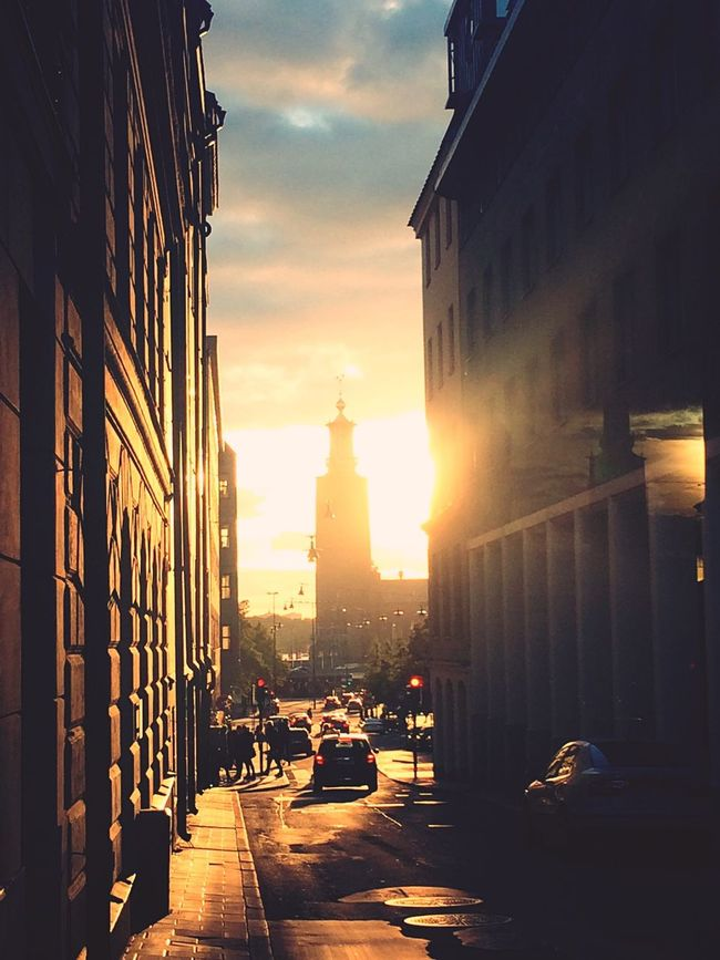 Sunset Sunset_collection Sunset Silhouettes Sunshine Light And Shadow Light Streetphotography Street Photography Street Eye4photography  EyeEm Gallery Stockholm City Sweden City Life Europe