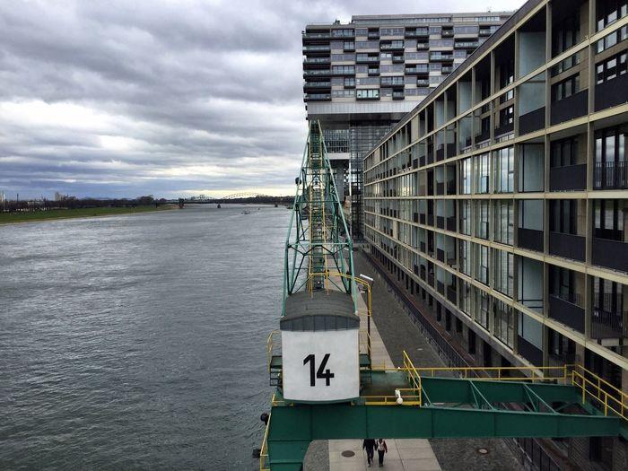 Harbour Modern Architecture Architecture Architecture_collection Formal Glass Reflection Rheinauhafen Cologne