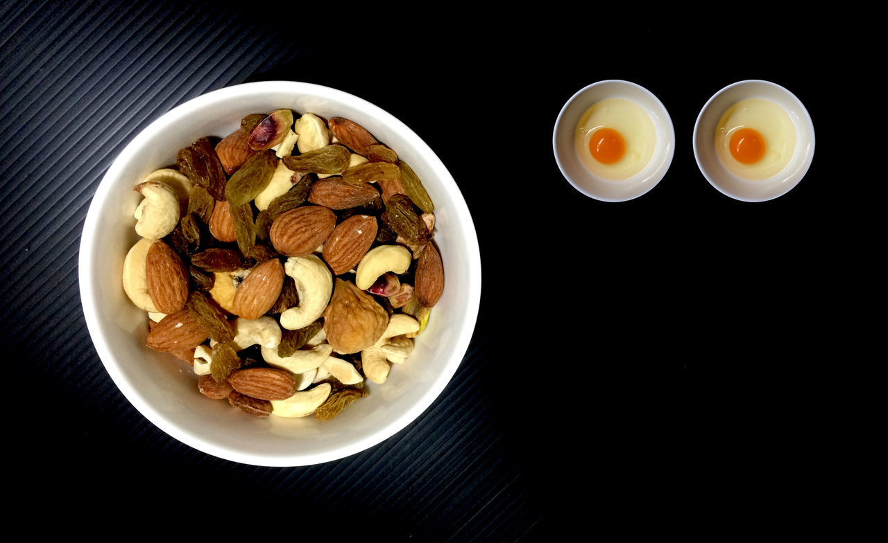 Beautiful stock photos of grafiken,  Bowl,  Cashew,  Egg,  Food
