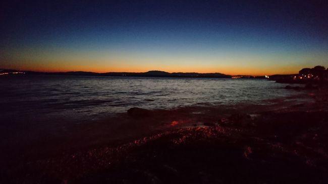 Sunset Adria Croatia Crikvenica