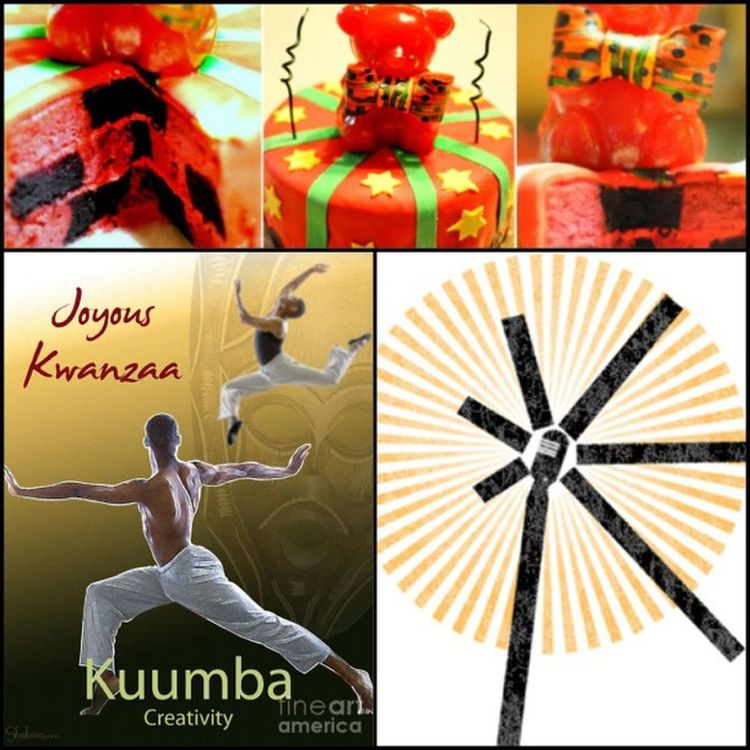 """Kuumba is the 6th Principle of Kwanzaa, meaning Creativity. It challenges us """"To always do as much as we can, in the way that we can, in order to leave our community more beautiful and beneficial than we inherited it."""" Kuumba Creativity HappyKwanzaa CelebrateKwanzaa"""