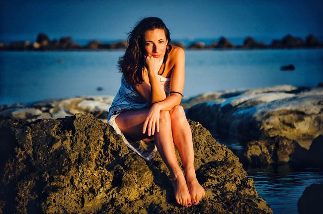 Sea Relaxation Beauty Beautiful Woman Young Women Lifestyles Young Adult Nature Water Vacations Summer Sicily Tourism Nature_collection Water_collection Week On Eyeem Welcomeweekly Open Edit Nature Beauty In Nature Travel Destinations Sicily, Italy