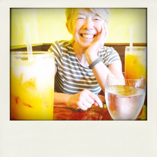 Thai Food Relaxing Ice Tea Susan