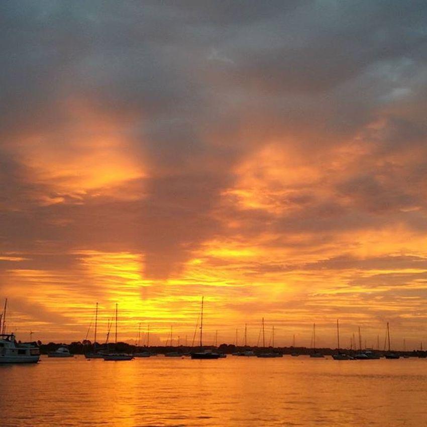Fireinthesky Epicsky Cloudporn Staugustine Harbourside Harbour Florida Fireinthesky Saltlife Saltlife_sunrise