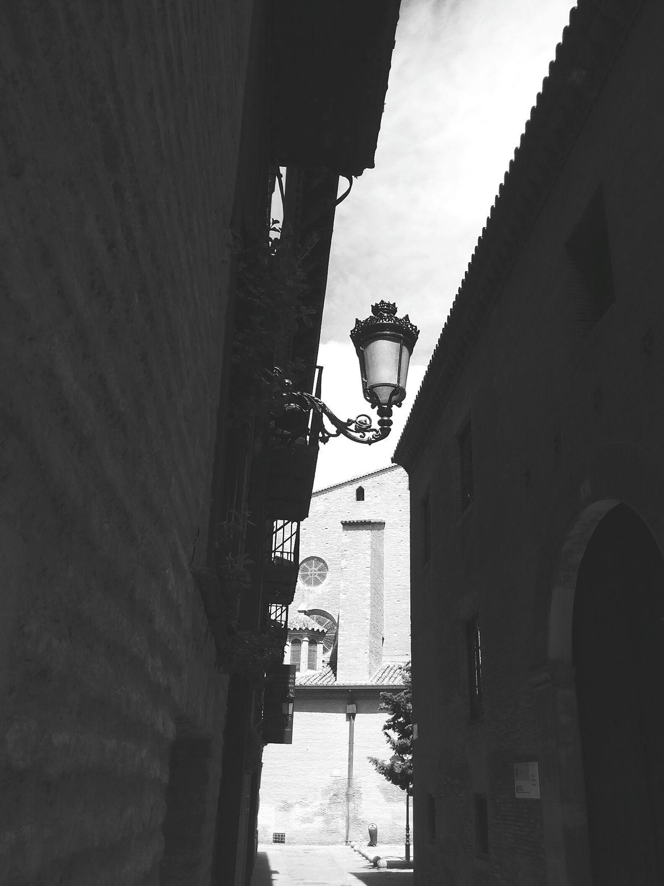 Zaragoza City Arquitecture Mudejar La Seo Old Houses