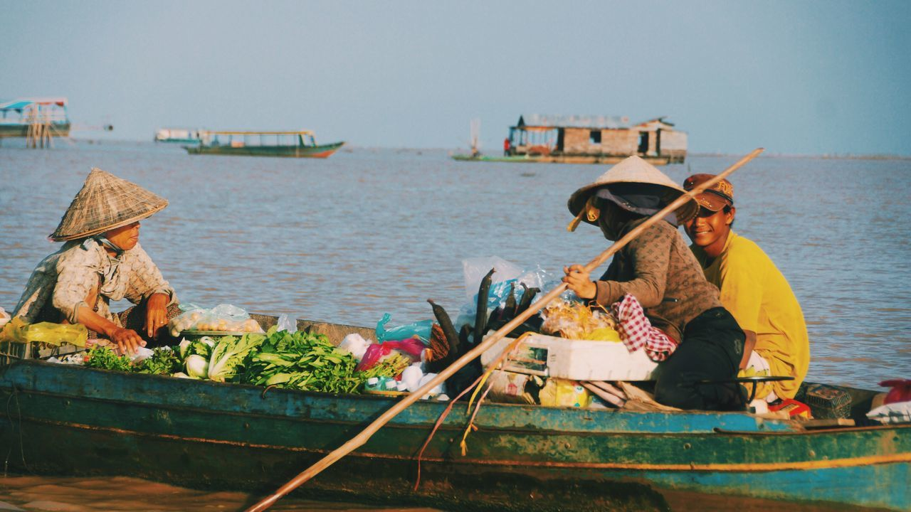 The Shop Around The Corner Daily Life Streetphotography People And Places Siem Reap Cambodia The Roll Found On The Roll Fresh On Eyeem  EyeEm Best Shots Showcase: May Tonlesap Lake Storytelling StiltHouse Village Floating Boat My Commute The Following We Are Water People Of The Oceans Girl Power Feel The Journey Original Experiences