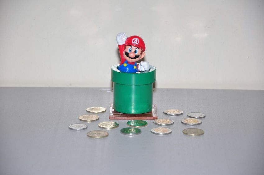 Super Mario Bros. Nintendo Toy Photography Coins