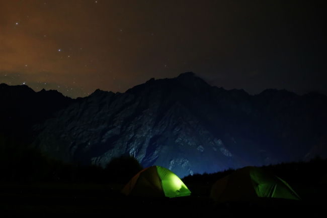 Astronomy Atmosphere Beauty In Nature Dark Distant Exploration Georgia High Up Kazbegi Majestic Mountain Nature Night Non-urban Scene Outdoors Scenics Sky Star - Space Star Field Tourism Tranquil Scene Tranquility Traveling Vacations Vibrant Color
