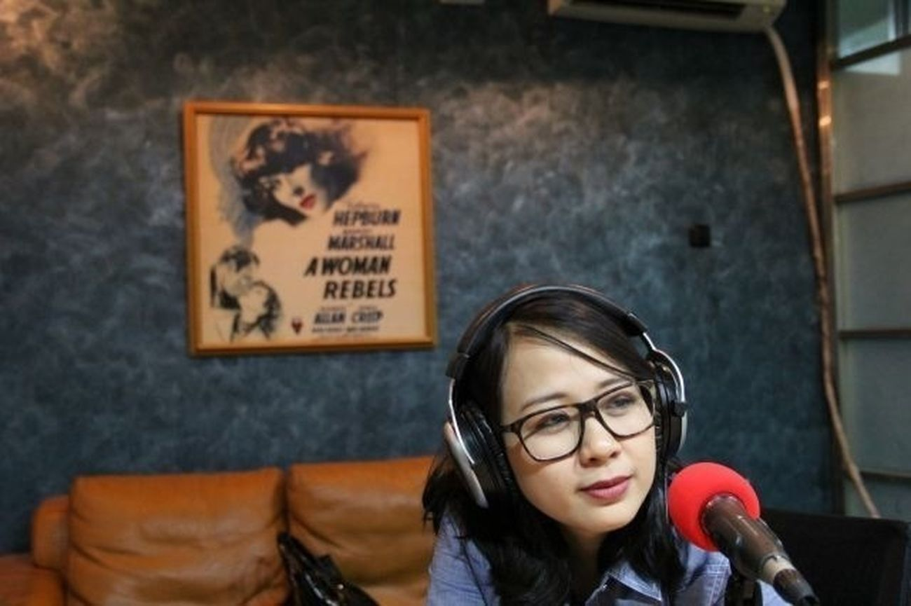 Astrid at Woman Radio
