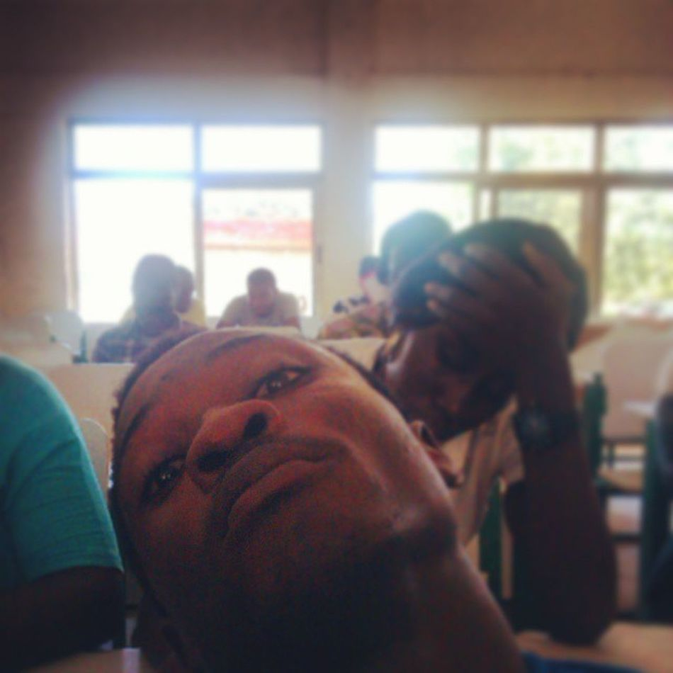 When boredom takes over you in the Lecture hall, u tend to give praise to Instagram Igers Instaaday Udsinsta KampusLife FinalYearTins