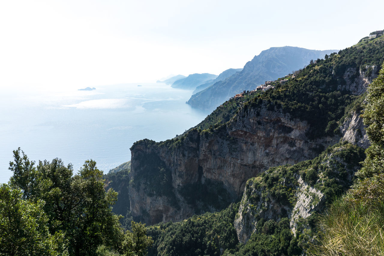 We decided to make this really nice hike in Italy called the path of god Beauty In Nature Cliff Day Mountain Nature No People Outdoors Scenery Scenics Sky Tree