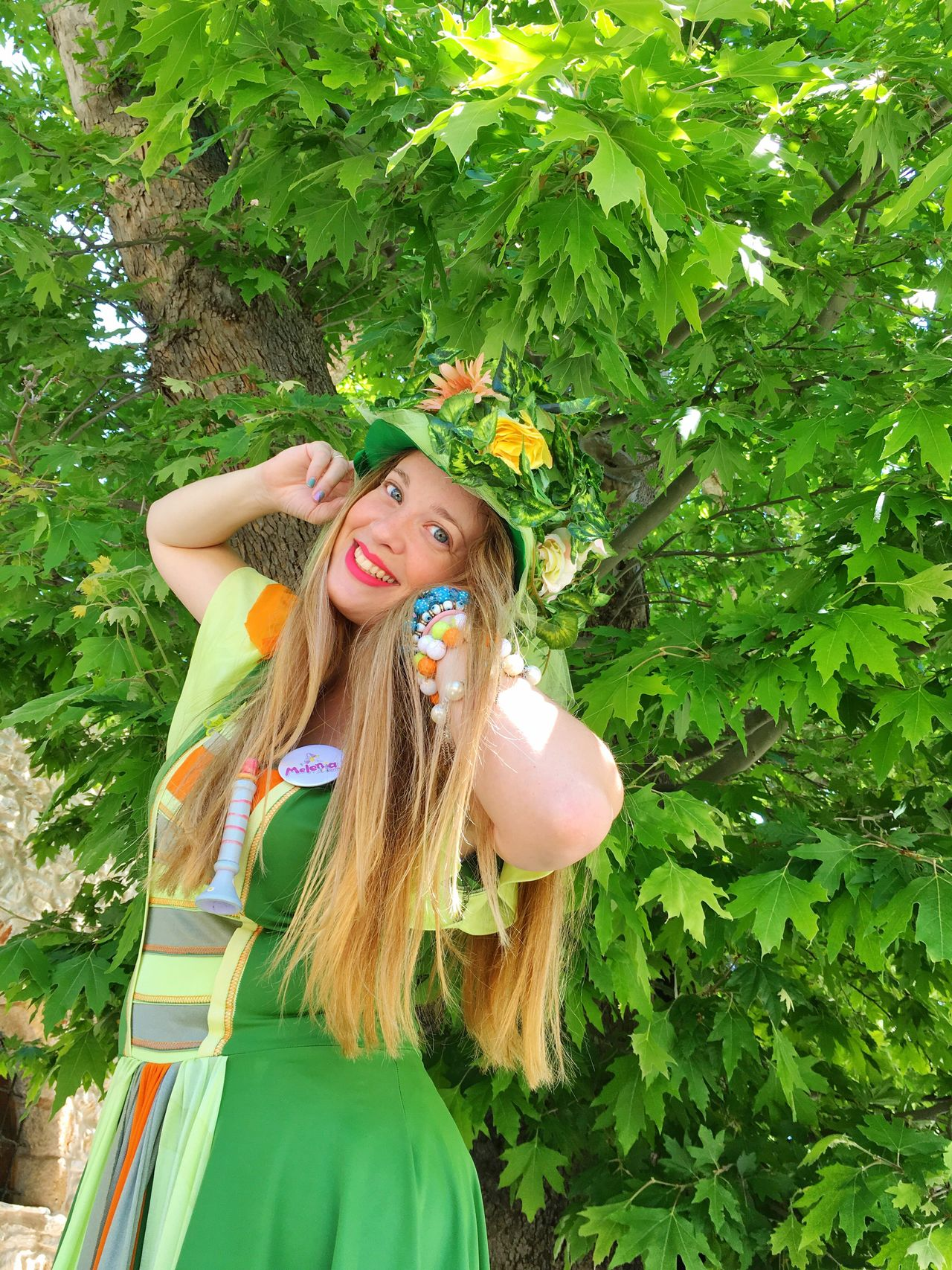 Long Hair Smiling One Person Elf Fantasy Fantasy Photography Green Color Tree Outdoors Happiness Day Beautiful Woman Enjoyment Casual Clothing Lifestyles Cheerful Women Portrait Nature Neraidamelenia Meleniapantou Meleniaclowndoctor Ksotiko Forest Photography Forest