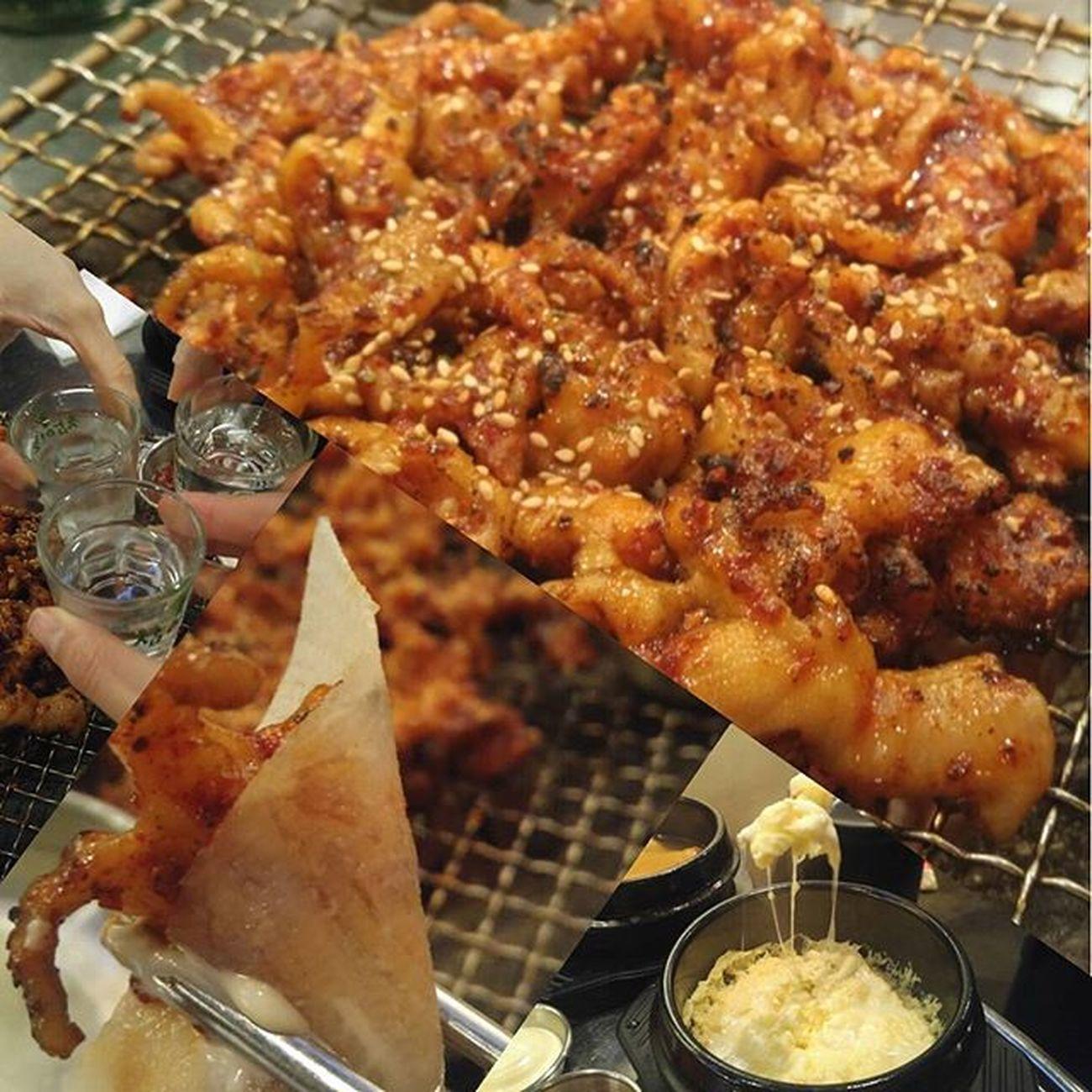 꼼주에서 한잔~~맛나맛나 닭발 !!! 요즘 빠짐 건대의 매력