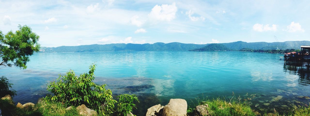 Panoramic View Of Lake