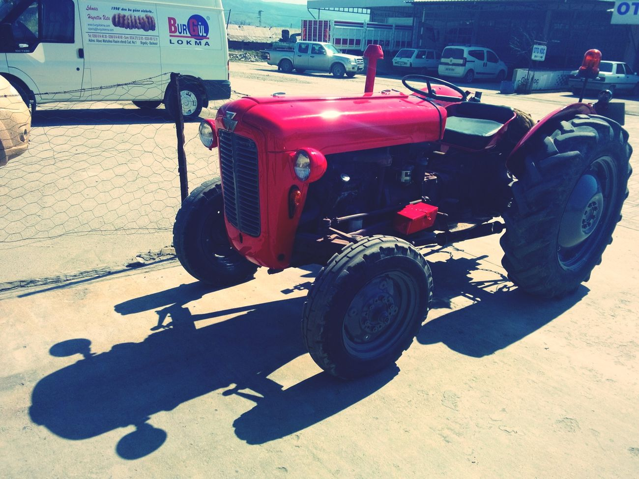 1960 Model Masseyferguson 35X Hello World Traveling Tracktor