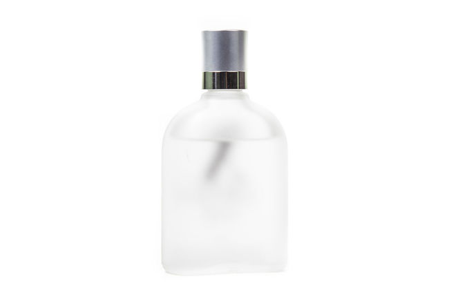 Beauty Bottle Close-up Freshness Glamour Horizontal No People Perfume Perfume Sprayer Shiny White Background