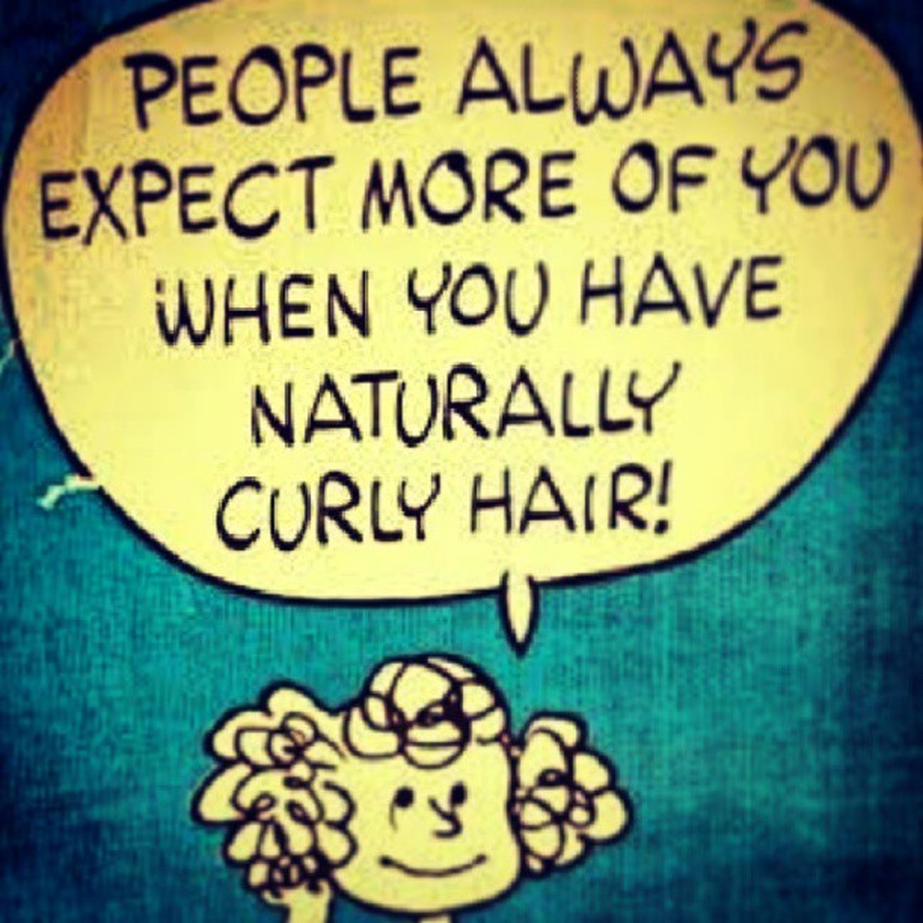 Ah, this explains my ambition! :) @safiag1 @chats0lot @mrskrizrollins So cute! Devacurl Curlworld Curlygirlandproud