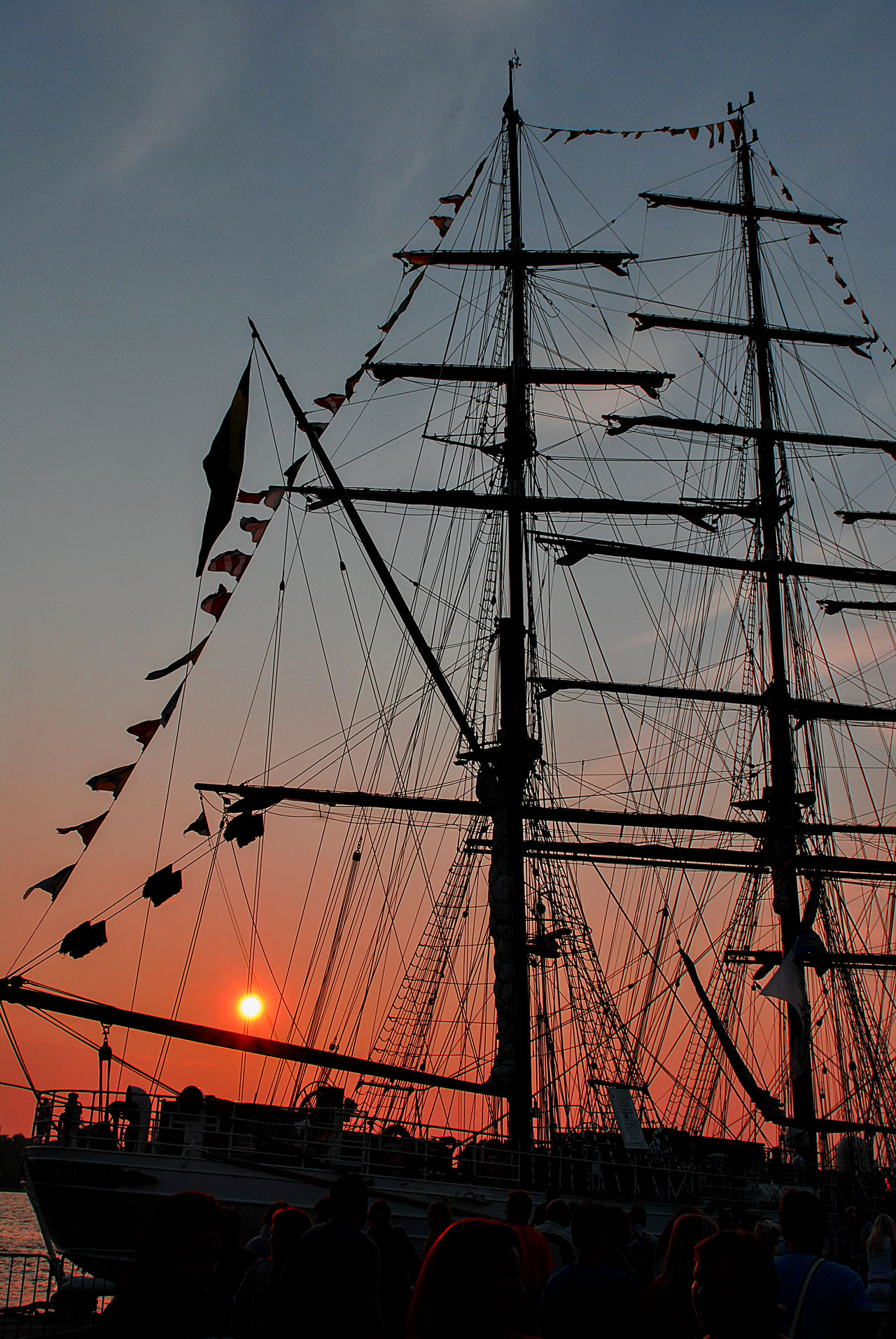 Photo Picture of a Sail Boat Silhouette at Sunset Daugava EyeEm Best Shots EyeEmNewHere Gold Golden Golden Sunset Masts Nautical Vessel Outdoors Reflection Regatta Riwer Romance Sail Boat Sail Boats Sailing Sailing Sport Sea Silhouette Sky Sailing Boat Sunset The City Light Water Yachting