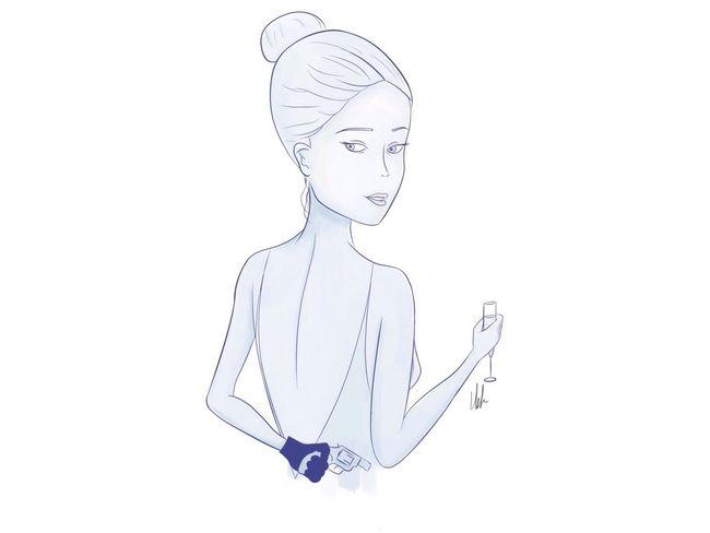 """She's all out to get you"" Q. 💣 Digital Art Digital Painting Digitalart  Photoshop Manga Studio Sketch Sketching Sketchbook Art Drawing Digitalillustration Digital Illustration Quicksketch Champagne Killerqueen Cocktaildress Queen"