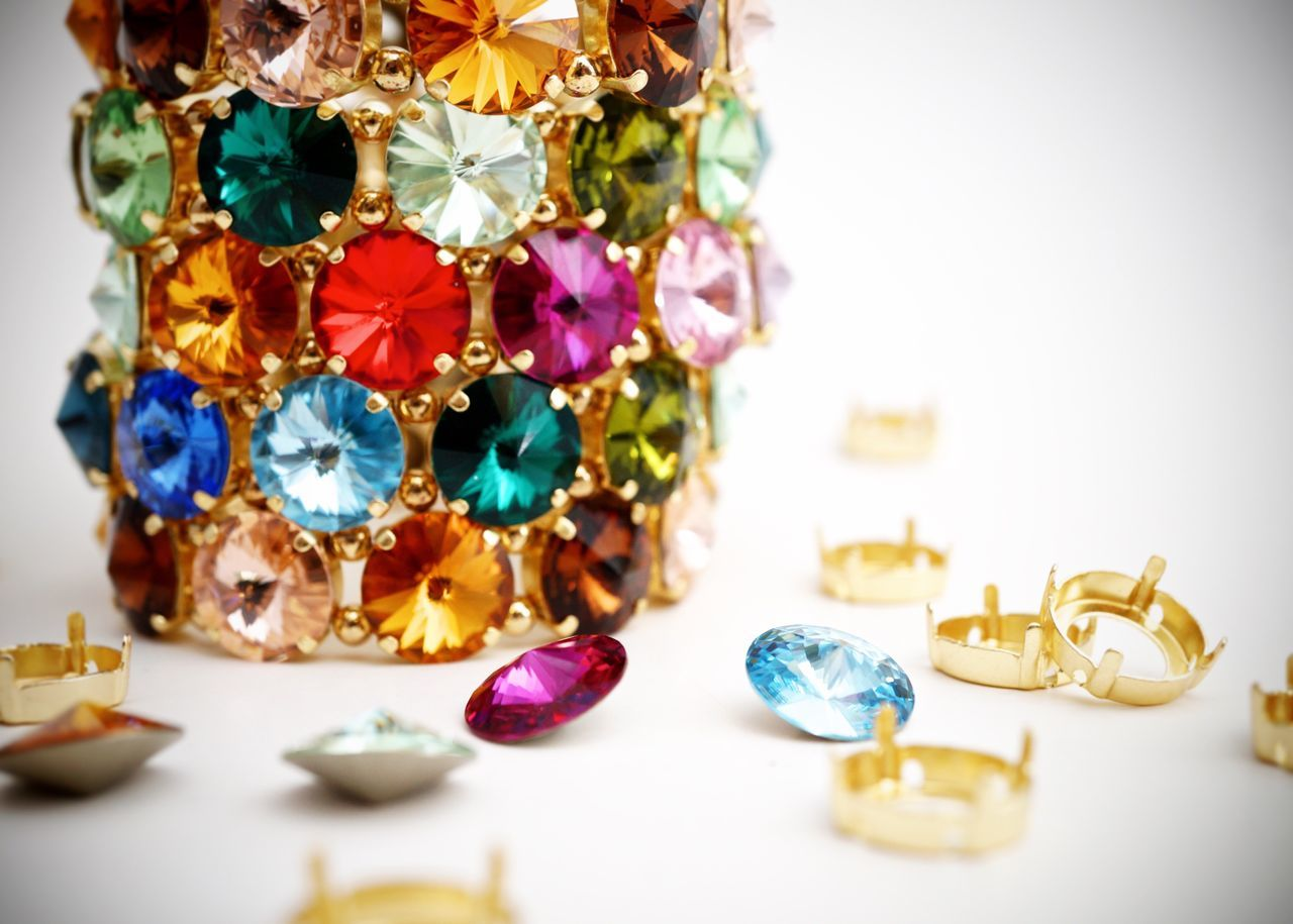 wealth, jewelry, multi colored, variation, collection, close-up, no people, luxury, gold colored, indoors, precious gem, day