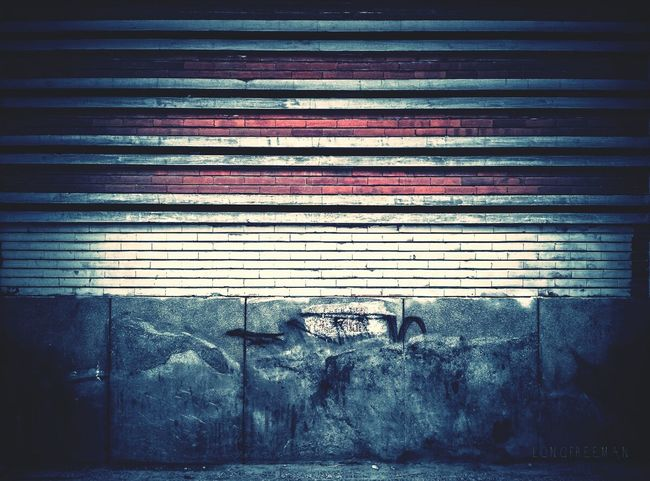 The memories wall-from many years ago at the highschool... Urban Geometry Architecture Streetphotography Saigonlife