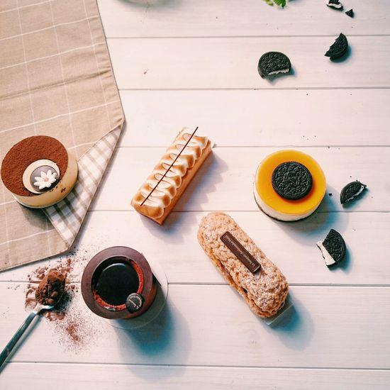 新甜點🍰。 Chocolate Tiramisu Oreo Cheese Cake Desserts Mousse Tart Chiba Tianba