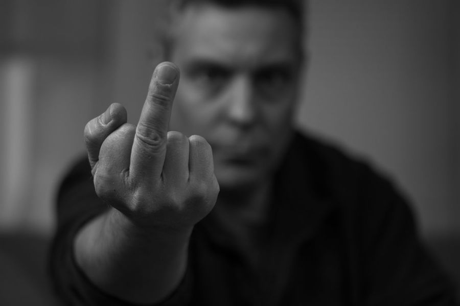 Sums Up The WeekB&w Blackandwhite Finger Gesturing Human Hand Indoors  Males  Nikon Nikon D3300 One Person Selective Focus Self Portrait Tamron