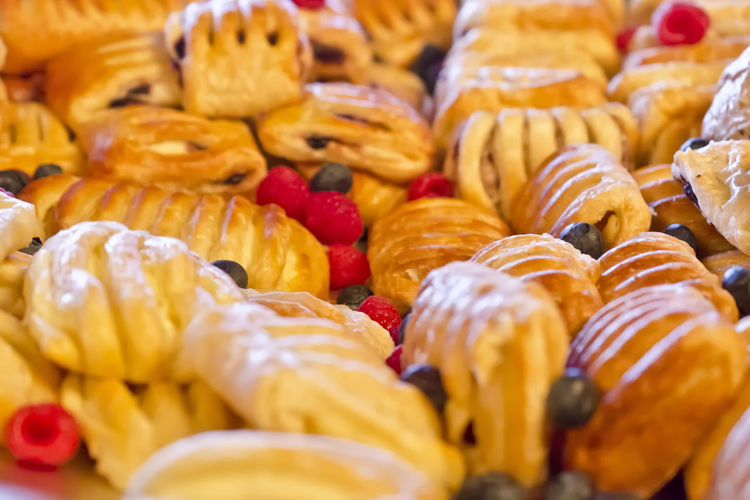 Pastries at a food show on display! yum! Abundance Arrangement Close-up Food Freshness Indulgence Nikon D7000 No People Pastries Pastries And Goodies Pastries🍮 Ready-to-eat Serving Size Still Life Temptation