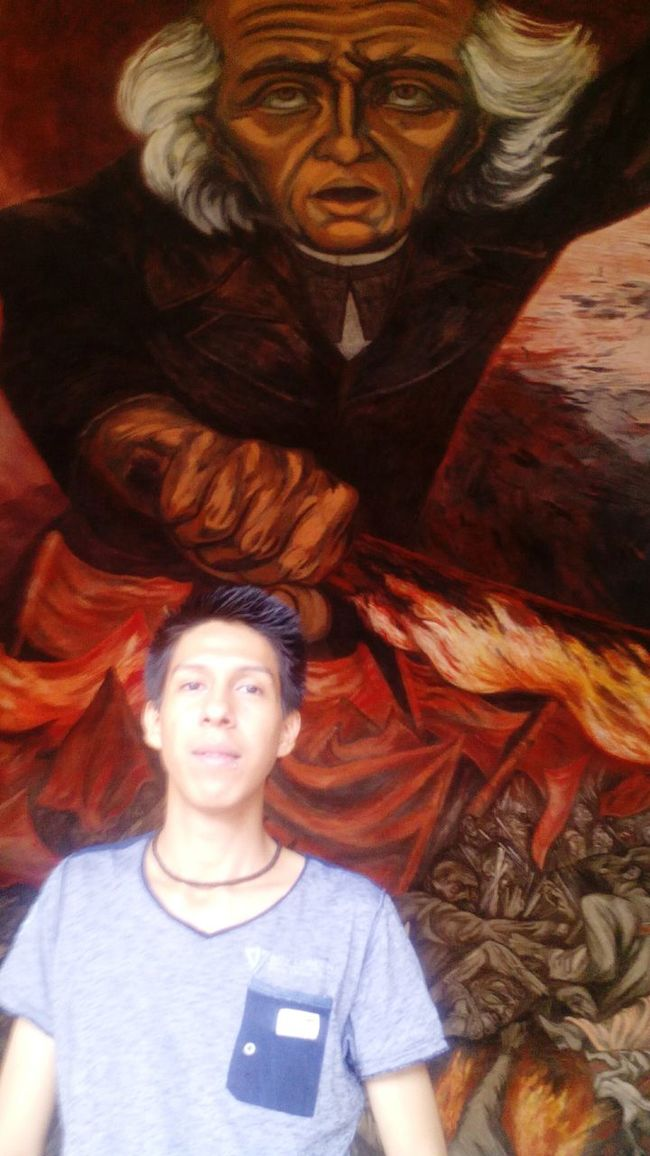 Having Fun More places to visit!! That's Me EyeEmBestPics Check This Out Vacations Taking Photos Mural Art Miguel Hidalgo