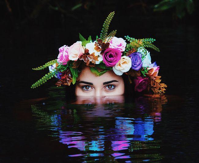 Water First Eyeem Photo EyeEmNewHere Girl Water Eyes Fairy