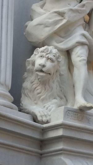 No People Statue Sculpture Architecture Religion History Kloster Travel Destinations Österreich Dürnstein Lion Lionsculpture Stone Animals