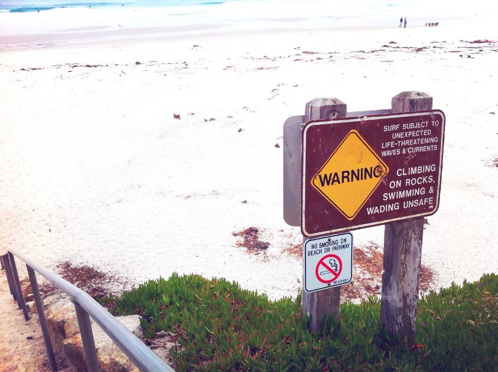 Signs at Carmel CA by Koduckgirl