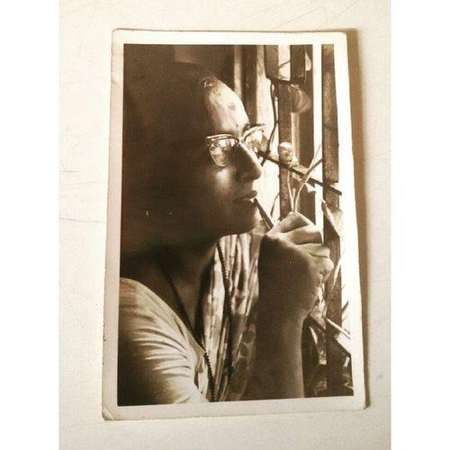 Indumati Beautiful Grandmother Aaji Instasize oldpicture posing sepia instalike instalove love pictureinpicture memories photograph treasure previous grace artist dearest longtimeago maharashtrian ilove