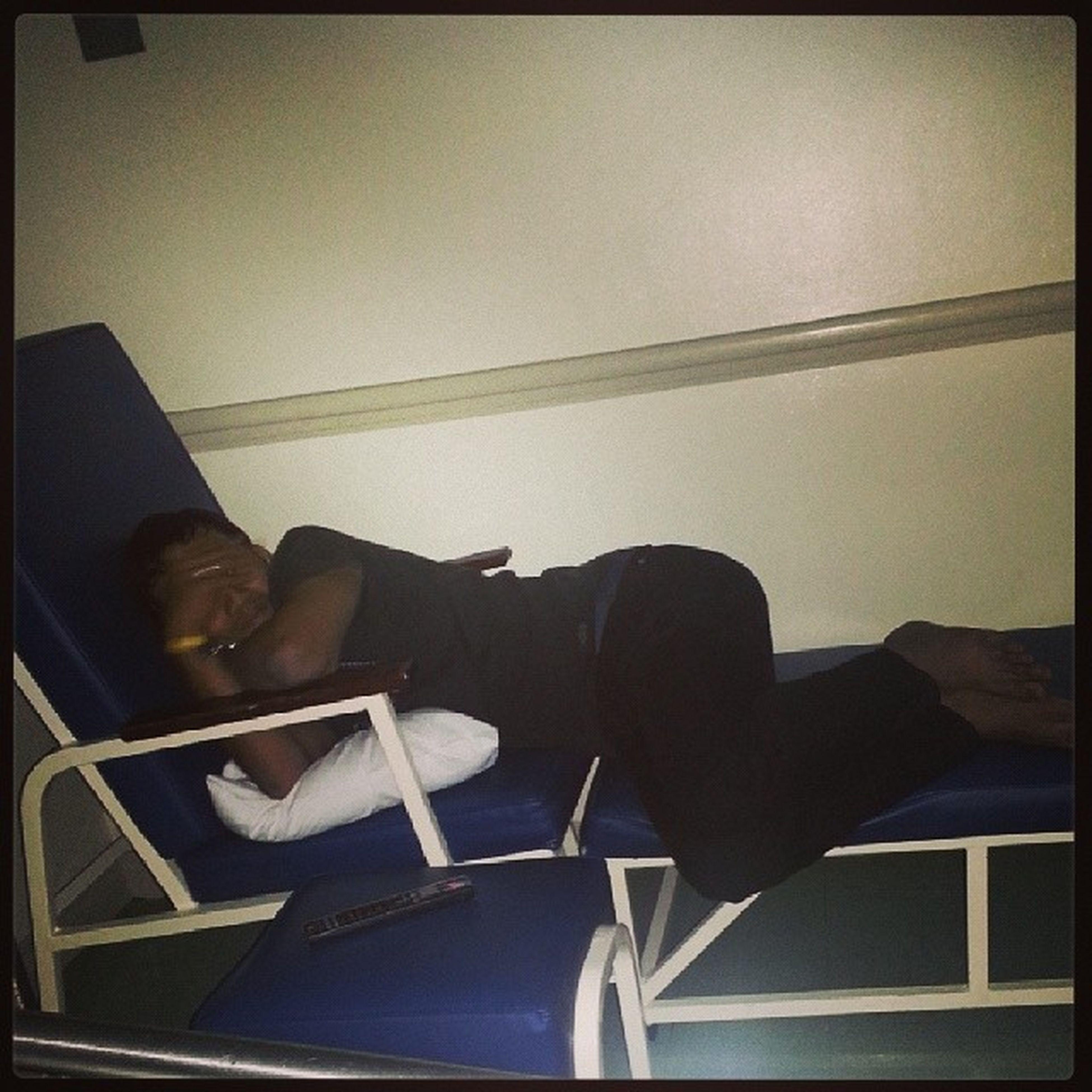 My superman is super bored already, watching WWE. Hospital Goinghometom