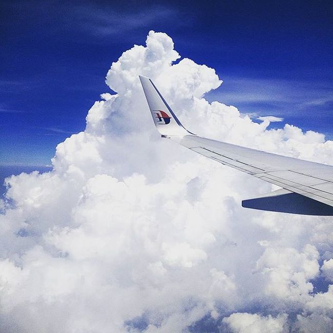 Malaysia Malaysiaairlines Clouds Sky Aeroplane Fly High Travelling Bali INDONESIA Travel Instaforlikes Instatags Instaphoto Instatravel Instaclouds Instasky Instafly HASHTAG :P