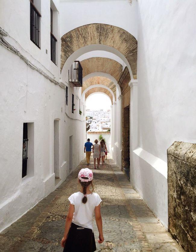 Exploring White Old Town Vejer De La Frontera  Andalucía SPAIN Girl The Tourist