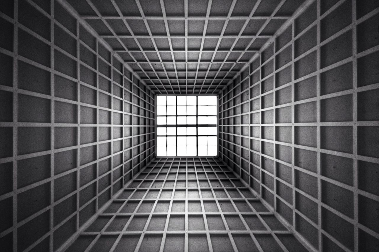 Lines Blackandwhite Architecture Lookingup