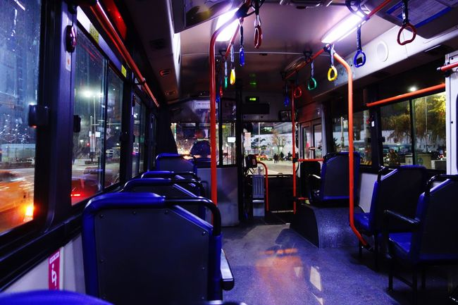 Seoul_korea Seoul Bus City Bus Night Bus