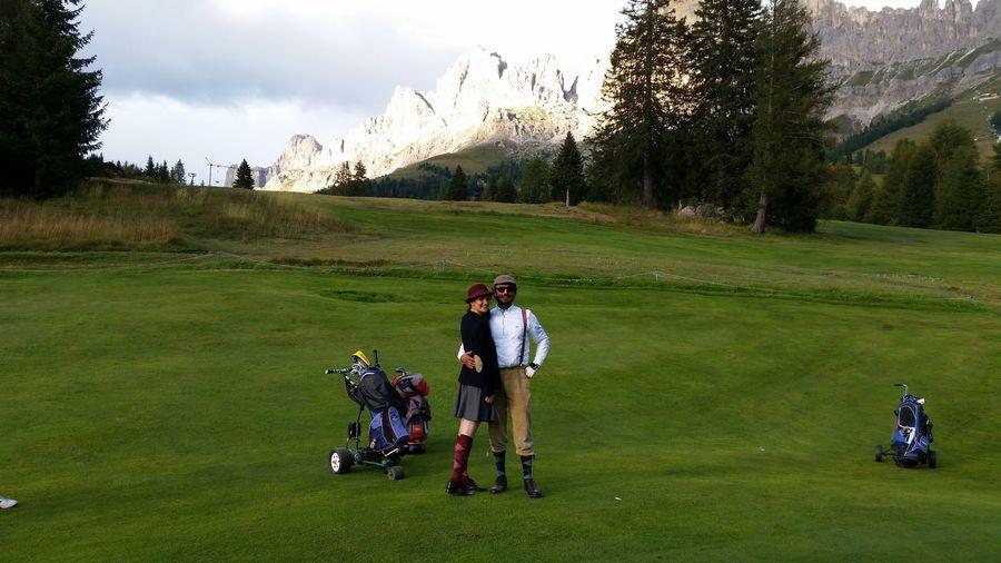 Old school golf Hole In One! Enjoying Life