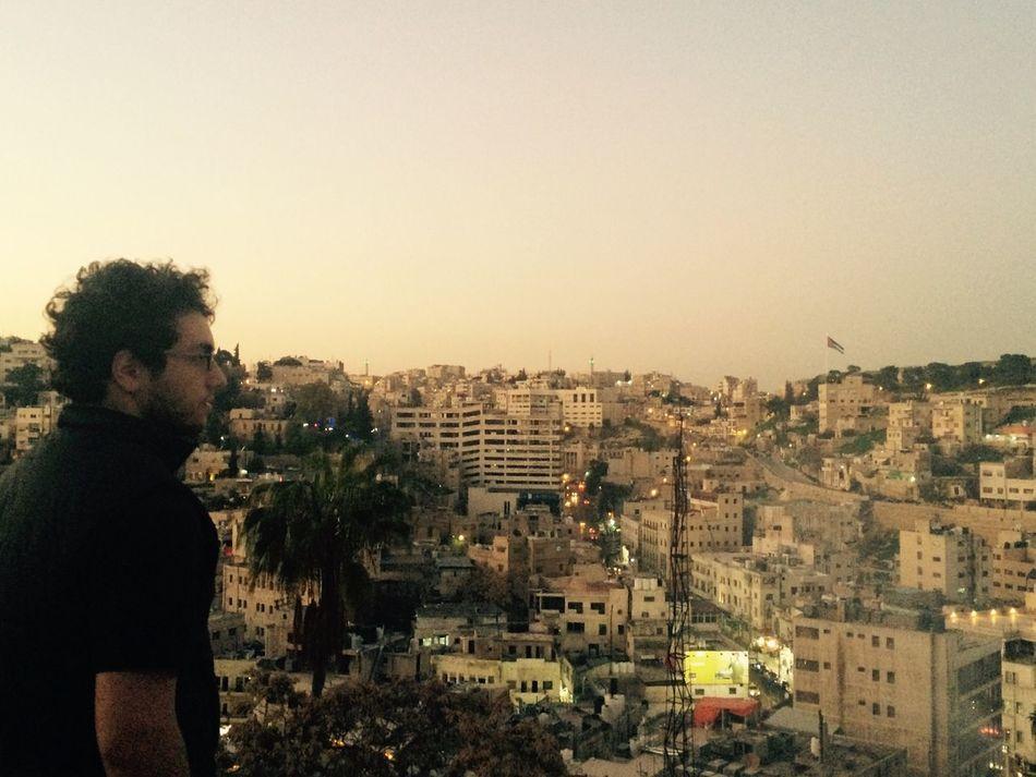 Amman Jabal Amman VisitJordan Sunset Sky Beard Curly Hair Curls World People Black Royal