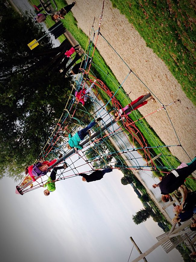 Sunday_flip Playground Kids Playing