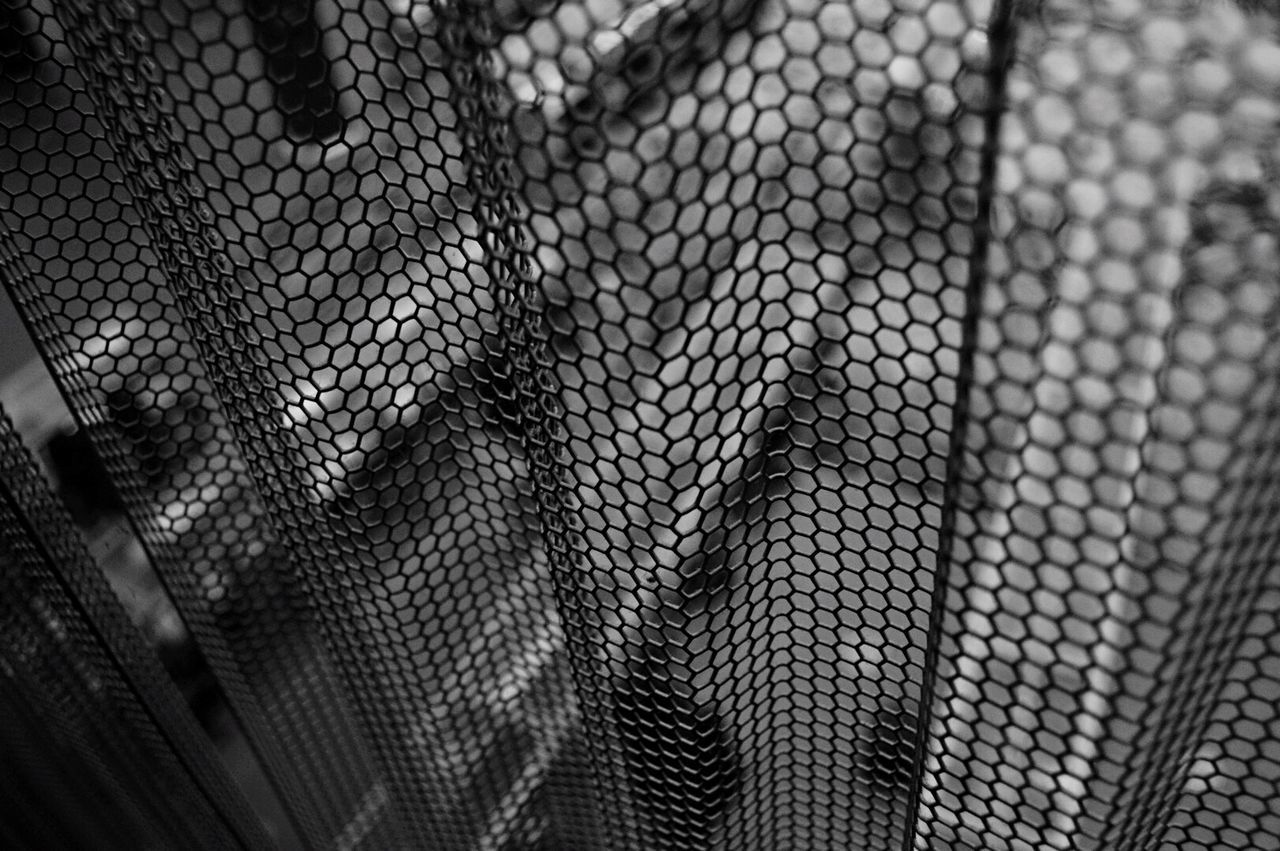 Backgrounds Textured  Close-up Foreground Full Frame Netting Textured  Indoors  No People Day