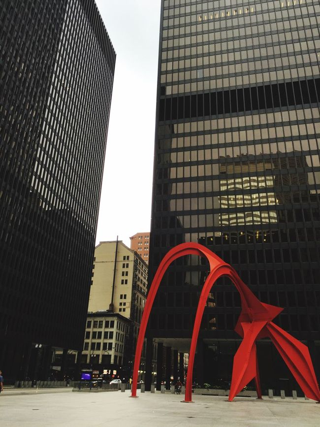 Abstractart Red Chicago Urban Urbanphotography