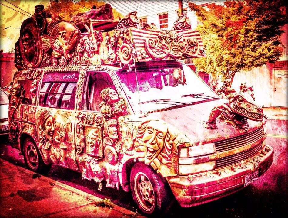 Extremo The Clown Art Cars Keep Portland Wierd My Neighborhood