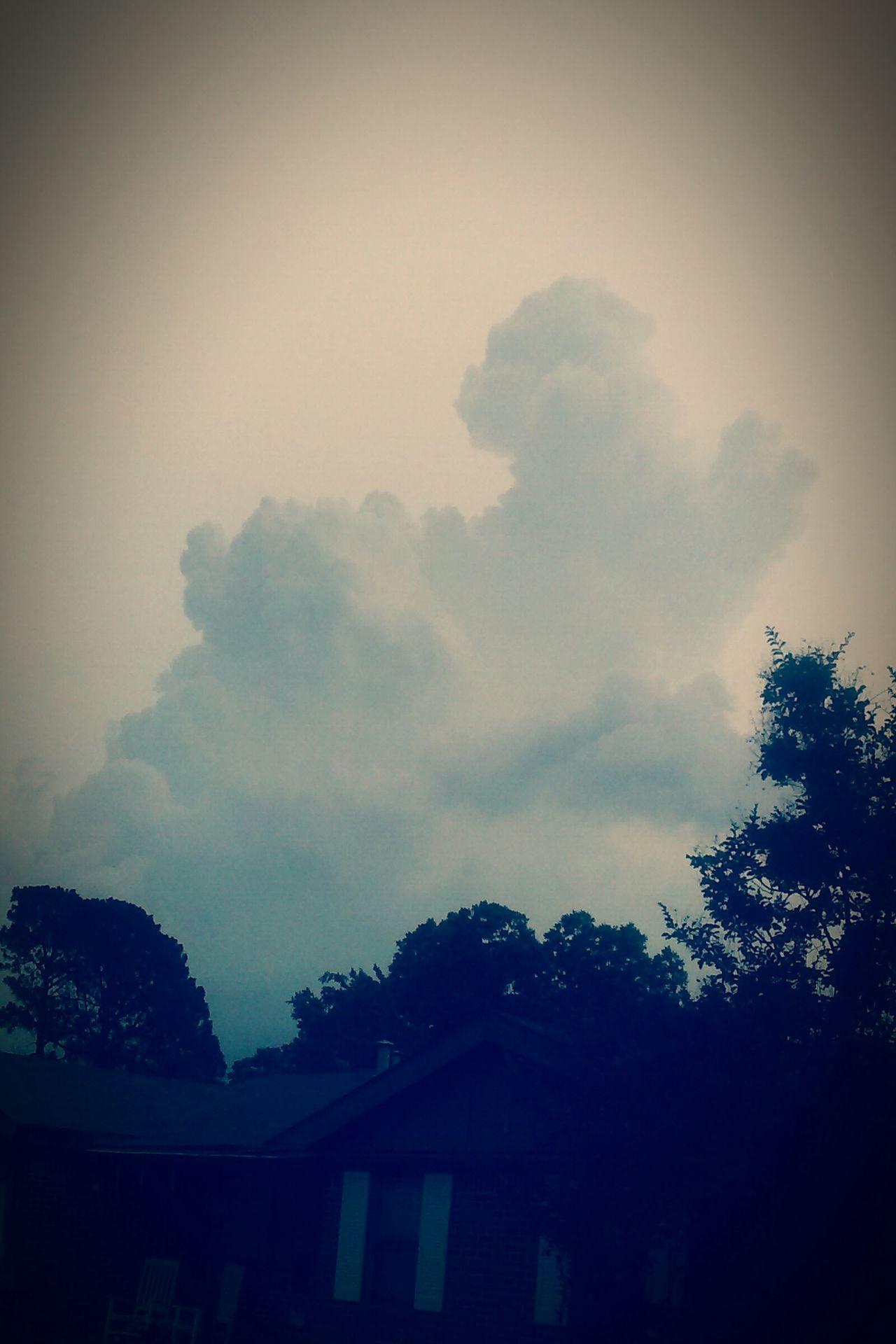 Sky Storm Storm Clouds Heaven Largerthanlife Earth Mothernature Spring AprilShowers