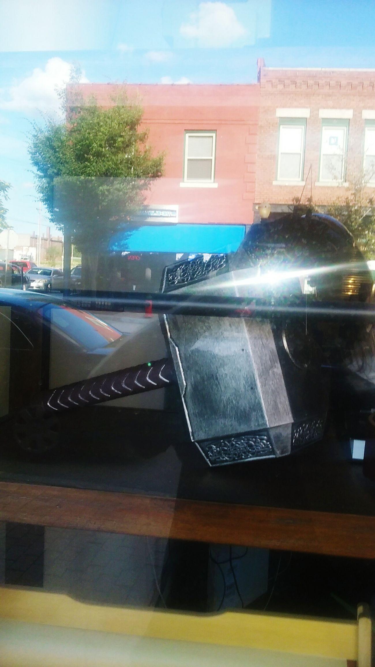 Thor's hammer?
